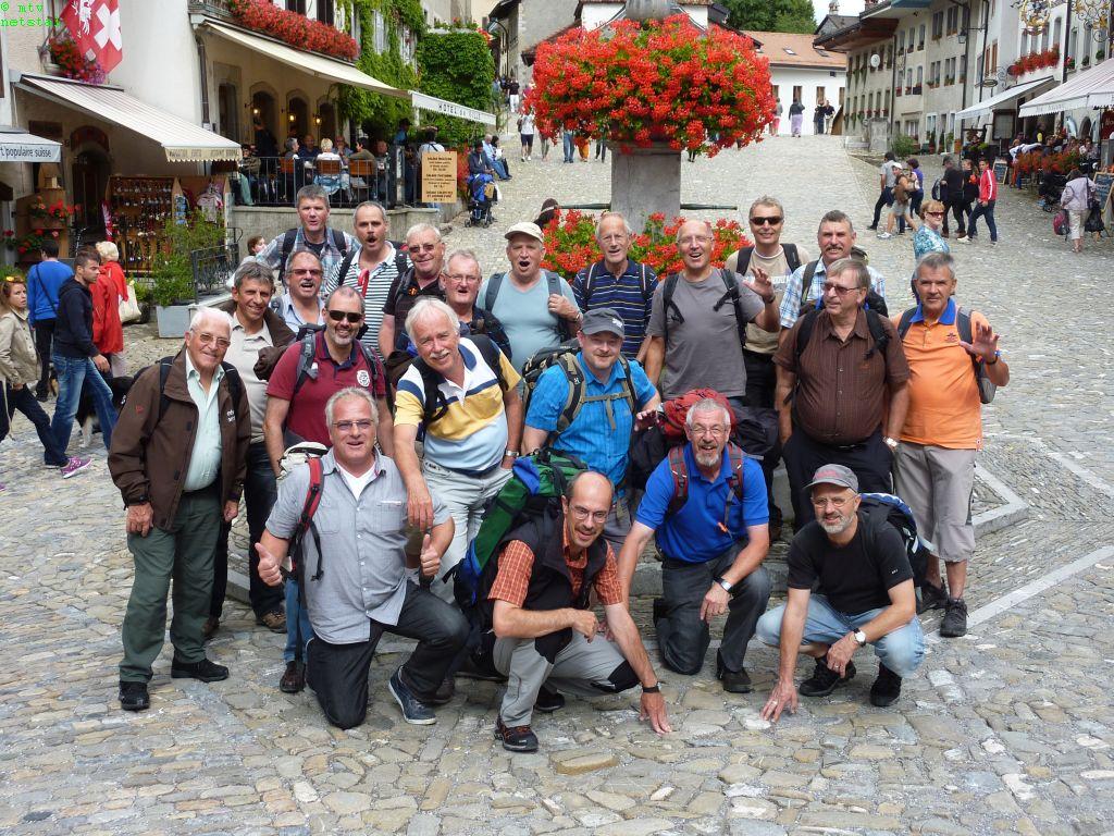 Chez les Welsch … Leman/Gruyères Reise  24./25.August 2013