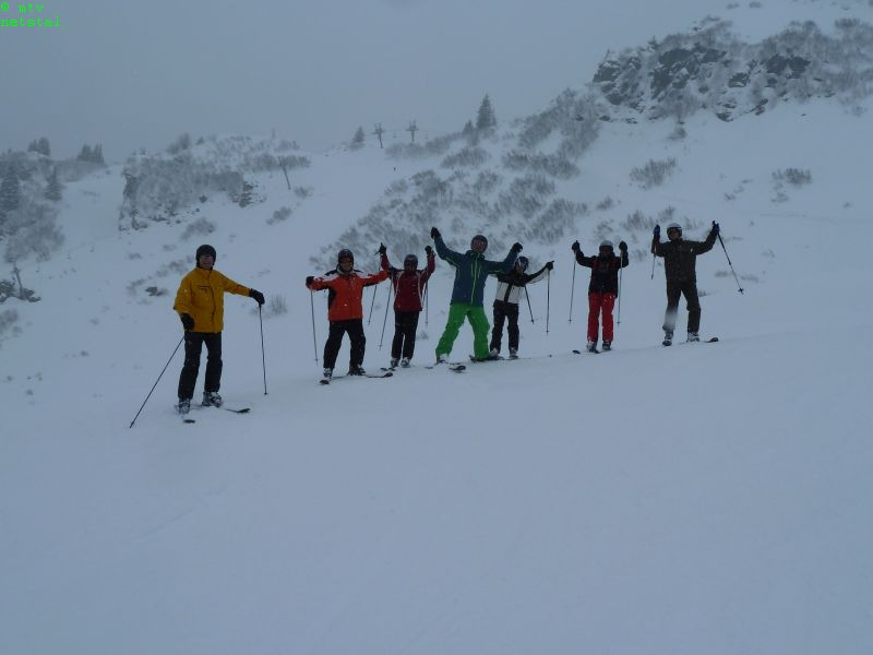Skitag in Braunwald, 01.03.2014